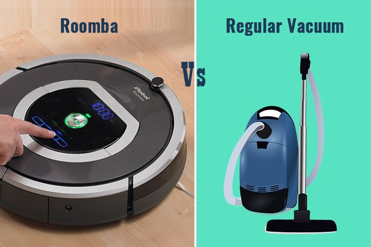 Roomba vs Regular Vacuum