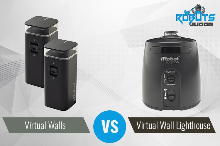 Roomba Virtual Wall Vs Lighthouse