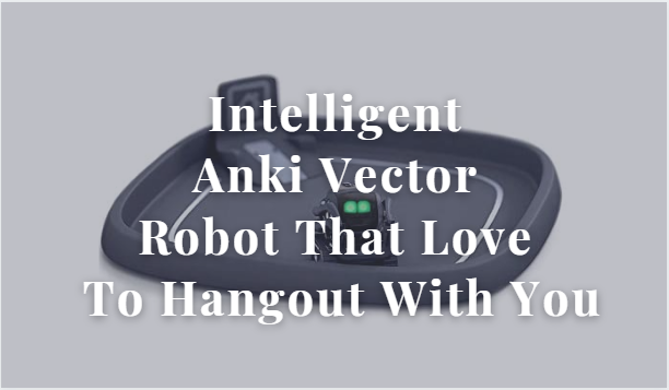 Intelligent Anki Vector Robot That Love To Hangout With You