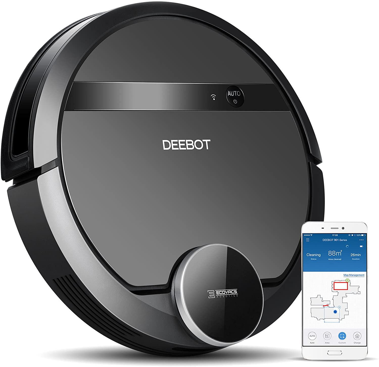 Easily Customize the Cleaning Process with Ecovacs Deebot 901