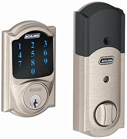 SCHLAGE Z-Wave Connect Camelot Deadbolt