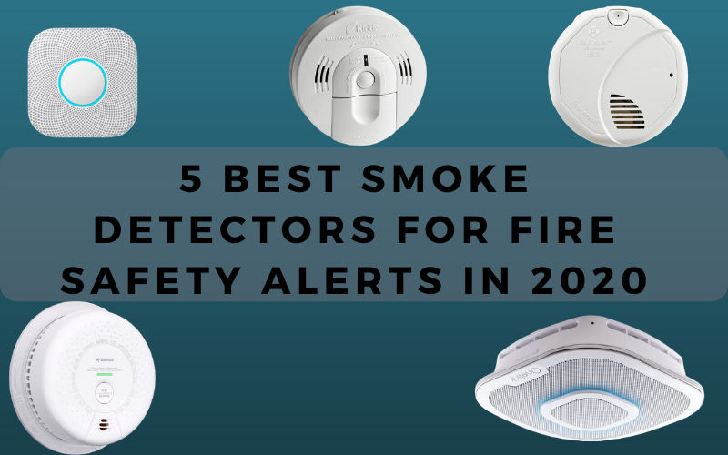 5 Best Smoke Detectors For Fire Safety Alerts in 2021