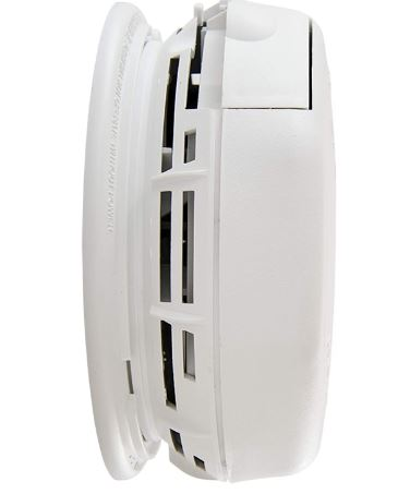 First Alert BRK 3120B Hardwired Smoke Detector with Photoelectric Sensor and Ionized Alarm with Battery Backup