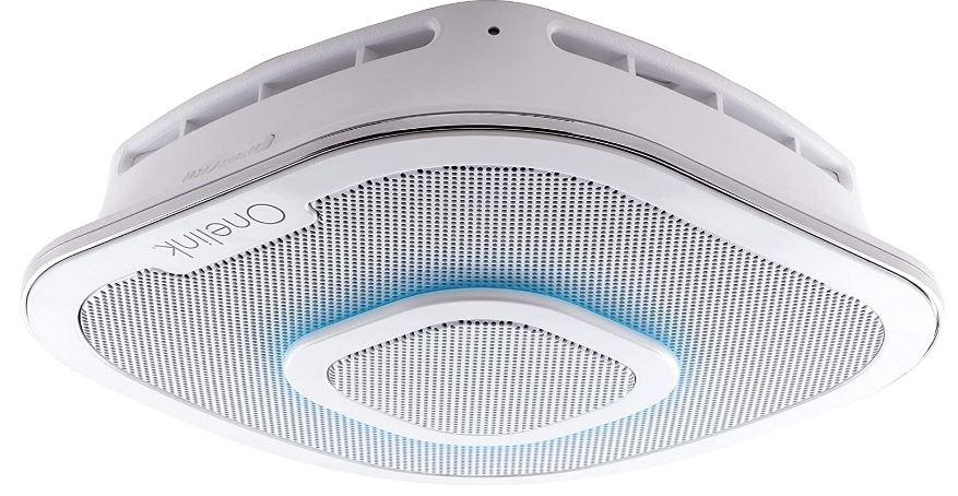 Alexa Enabled Smoke Detector and Carbon Monoxide Detector Alarm with Premium Home Speaker