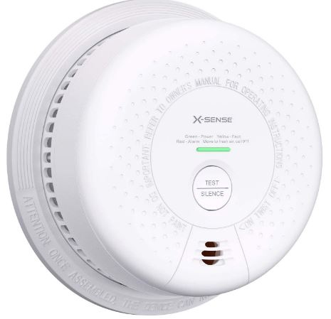 X-Sense 10-Year Battery (Not Hardwired) Combination Smoke and Carbon Monoxide Detector Alarm, Dual Sensor Smoke CO Alarm Complies with UL 217 & UL 2034...