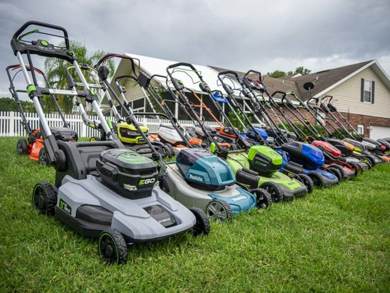Top 6 Cordless Lawn Mowers