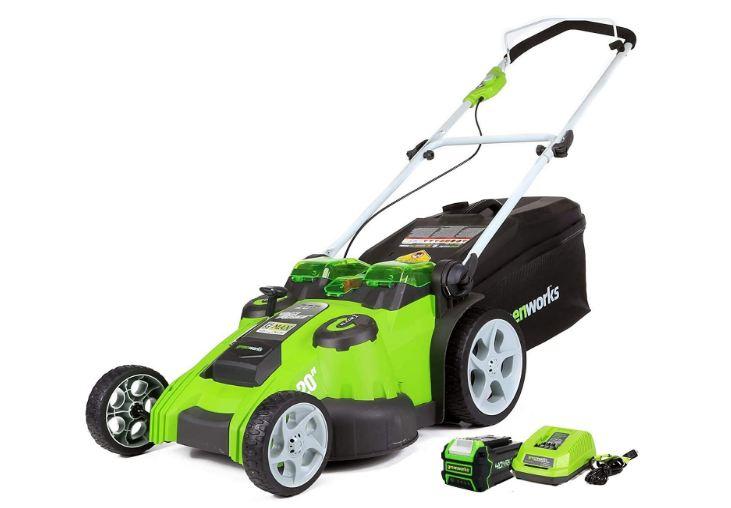green work mower
