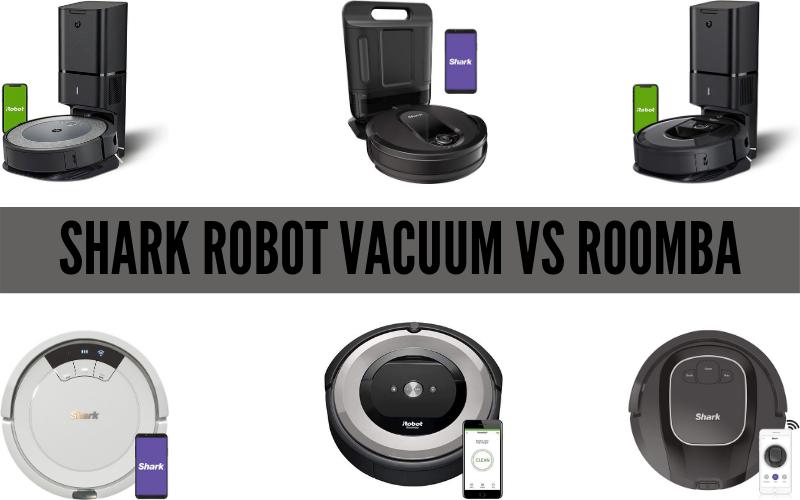 Shark Robot Vacuum vs Roomba [Complete Guidance]