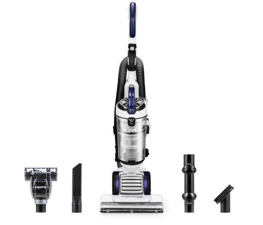 EUREKA NEU522 FloorRover Dash Upright Pet Vacuum Cleaner, HEPA Filter, Swivel Steering for Carpet and Hard Floor, Bagless, Deep Ocean