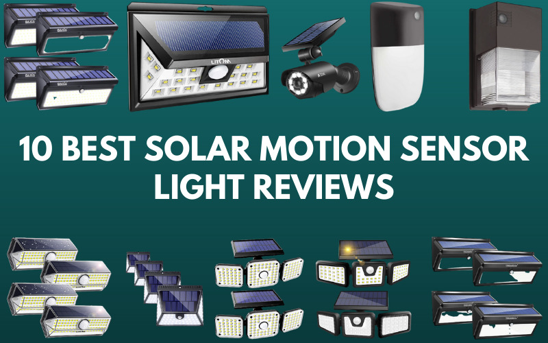 10 Best Solar Motion Sensor Light Reviews 2021